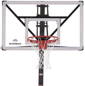 dunking adjustable basketball hoops