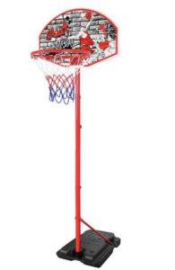 adjustable garage basketball hoop