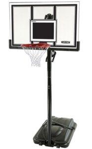 adjustable height basketball hoops