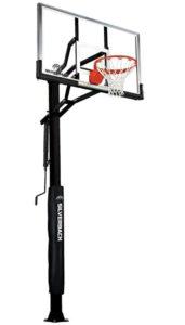 easy adjustable basketball hoop