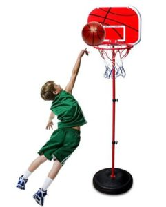 childrens plastic basketball hoop