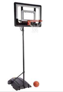 indoor basketball goal