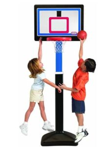 indoor basketball hoops