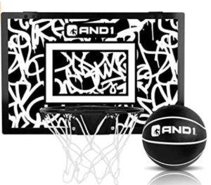 wall mountable mini basketball hoop