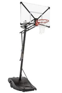 basketball hoop with wheels
