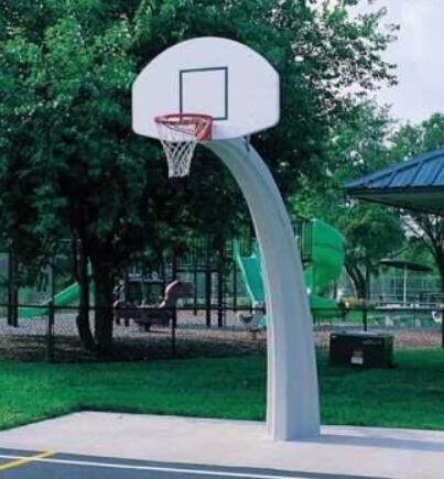 how tall is basketball hoops