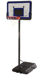 portable basketball hoop with wheels