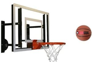 wall mounted adjustable hoops