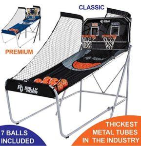 fold down basketball hoop