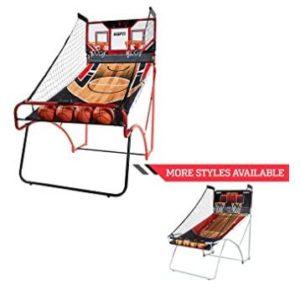 fold away basketball hoop