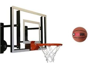 garage door basketball hoop