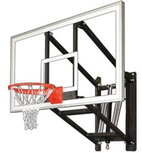 basketball backboard garage mount