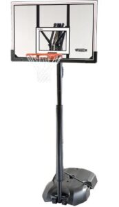 free standing portable basketball hoop