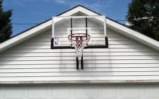 garage mount basketball