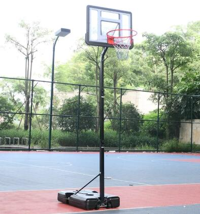 indoor free standing basketball hoop