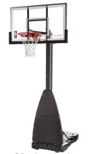 spalding heavy duty portable hoop