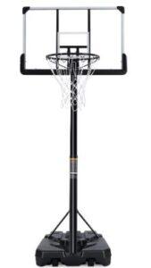free standing basketball hoop