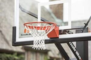 adjustable garage mount basketball hoop