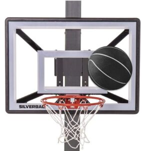 indoor garage basketball hoop