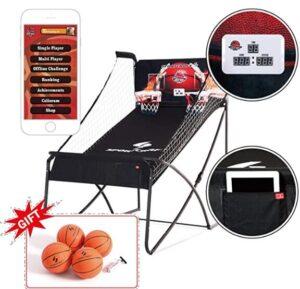 electronic basketball hoop arcade