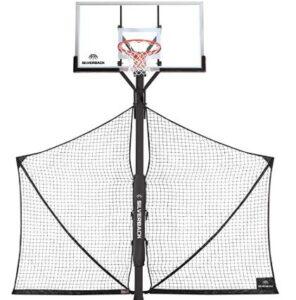 playing basketball hoops
