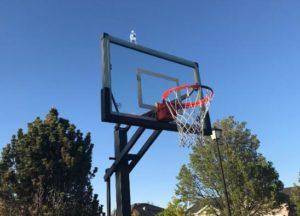 spalding arena basketball hoop