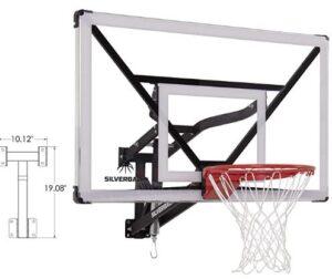nba adjustable basketball hoop
