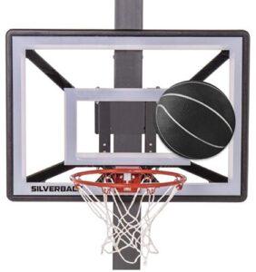 adjustable wall mount basketball hoop