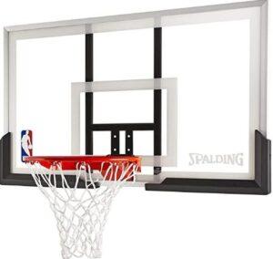 in ground adjustable basketball hoop