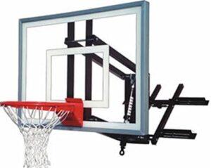 basketball hoop garage roof mount
