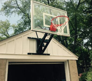 garage mountable basketball hoop