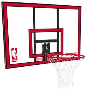 hanging basketball hoop garage