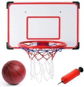 using garage basketball hoop
