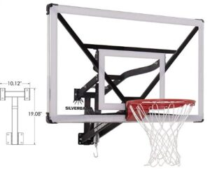 basketball hoop garage wall mount
