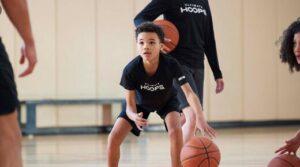 youth basketball hoop