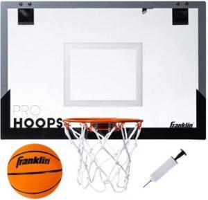garage mounted basketball hoop