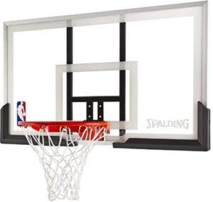 using garage door basketball hoop