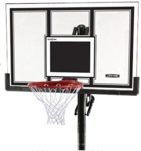lifetime 54 inch portable basketball hoop
