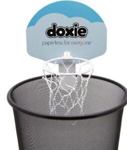 office desk basketball hoop