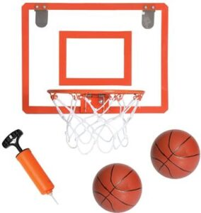 garage door basketball hoop