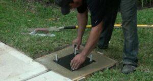 installing inground hoops