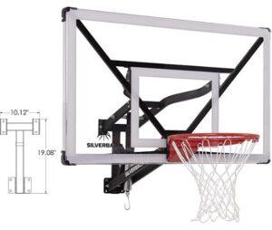 silverback mini basketball hoop
