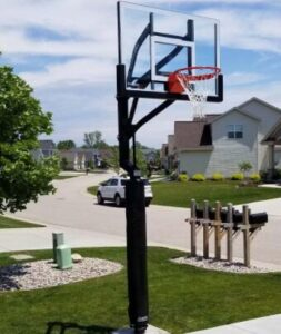 basketball hoops for backyard