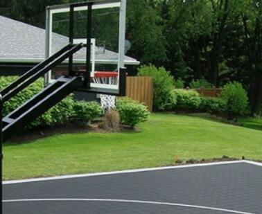 rules for installing basketball hoops