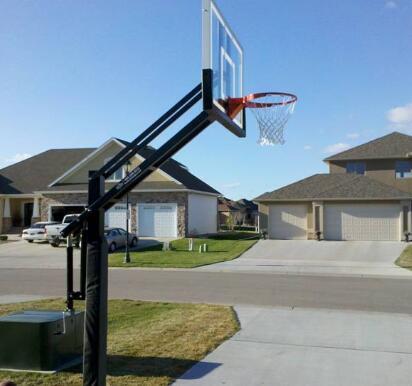 basketball hoop for driveway