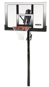 cheap lifetime inground basketball hoop