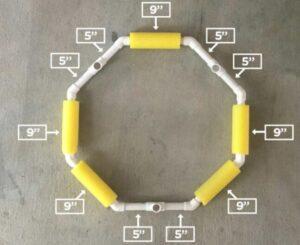 parts of floating basketball hoop