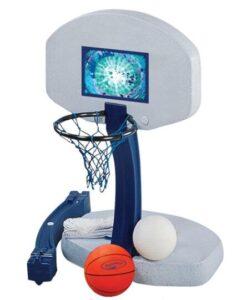floating pool basketball game set