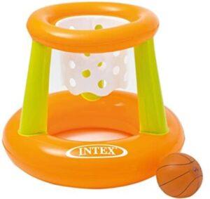 above water floating hoops