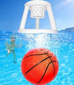 floating basketball hoops